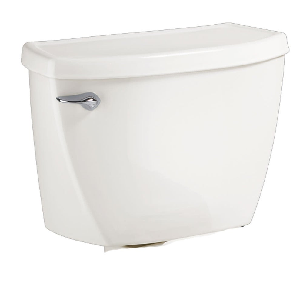 American Standard 4142.100 Cadet 1.1 GPF Toilet Tank Only with Left - White (White) -  Overstock