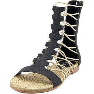 Mia Dominica Open Toe Synthetic Gladiator Sandal