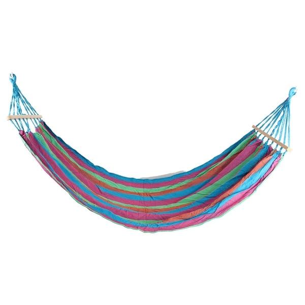 shop outdoor camping leisure canvas hanging sleeping bed hammock