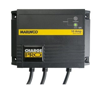 Marinco Charger 10A (5/5) 12/24V On-Board Battery 28210