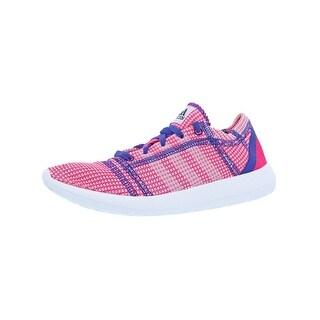 Adidas Girls Element Refine Tricot Running Shoes Big Kid Training - 4 medium (b,m) big kid