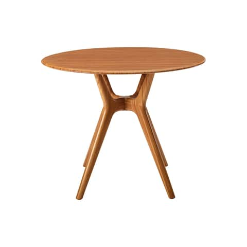 """Sitka 36"""" Round Dining Table, Amber"""