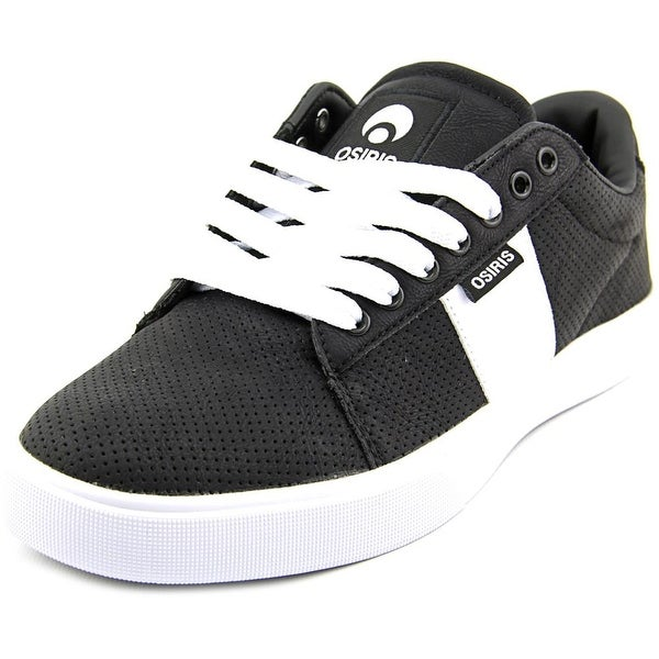 Osiris Rebound VLC Men Round Toe Synthetic Black Skate Shoe