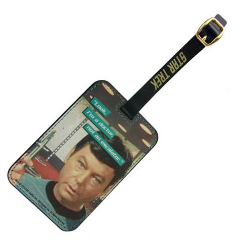 Star Trek Dr. McCoy Graphic Luggage Tag - Multi