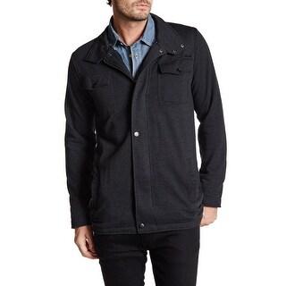 EZEKIEL NEW Black Mens Size 2XL Full Zip Mock Neck Multi Pocket Jacket