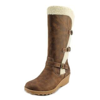 Baretraps Evergreen Round Toe Leather Knee High Boot|https://ak1.ostkcdn.com/images/products/is/images/direct/2499c69643d172d61511e7f94f7fad005713f3c6/Baretraps-Evergreen-Round-Toe-Leather-Knee-High-Boot.jpg?impolicy=medium