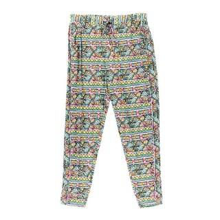 Trina Turk Womens Bora Bora Printed Stretch Pants Swim Cover-Up - M