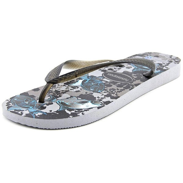 Havaianas Conservation International Men Synthetic Gray Flip Flop Sandal