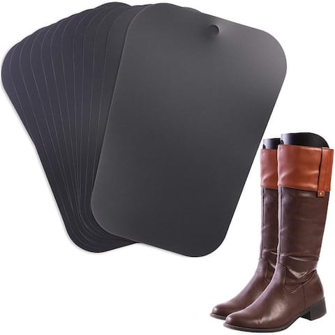 "6 Pairs 16"" Boot Shaper Form Inserts, Boot Support Holder Hanger for Women Men"
