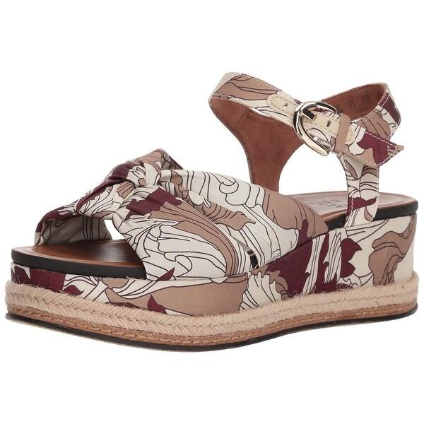 e1e6cf104e Shop Naturalizer Womens Berry Fabric Open Toe Casual Espadrille ...