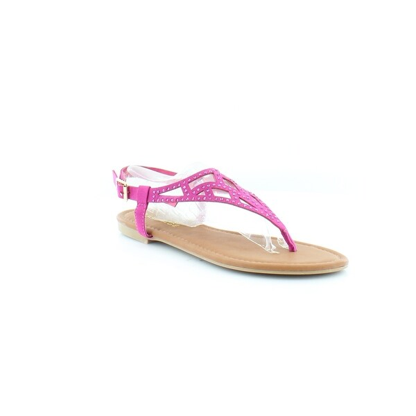 Rampage Pattie Women's Sandals & Flip Flops Fuchsia
