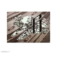 ''Puddle'' by M.C. Escher Fantasy Art Print (21.75 x 25.625 in.)
