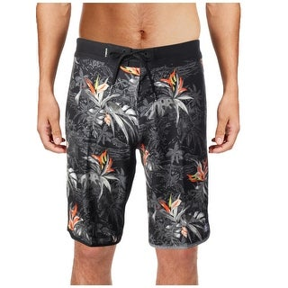 O'Neill Mens Hyperfreak Islander Printed Water Repellent Board Shorts - 28