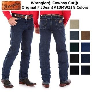 Link to Wrangler Men's Cowboy Cut Original Fit Jeans Similar Items in Pants