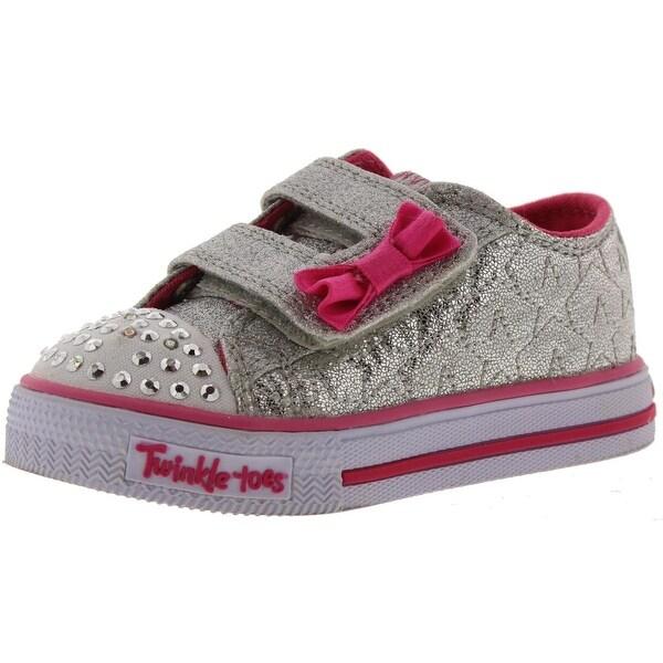 Shop Skechers Girls Fashion Sneakers Glitter Light Up - Free ... 58870696054c