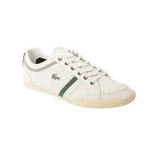 Lacoste Mens Rayford 7 Sneaker in Off White