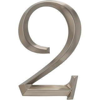 Whitehall Classic Polished Nickel 6-Inch Number 2