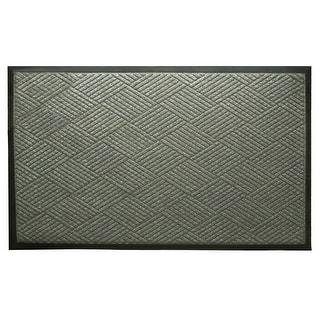 GardenPath Grey Loop Pile Doormat - 59L x 35W
