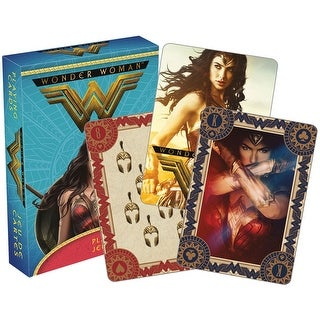Wonder Woman The Movie Licensed Playing Cards - Standard Poker Deck - MultiColor