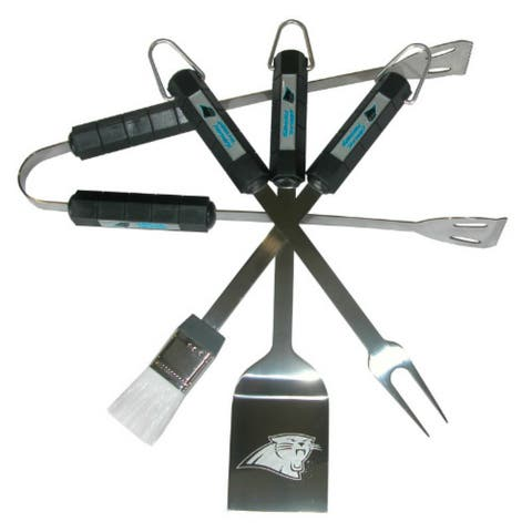 Siskiyou Sports Carolina Panthers 4 Piece Bbq Set Barbeque Set