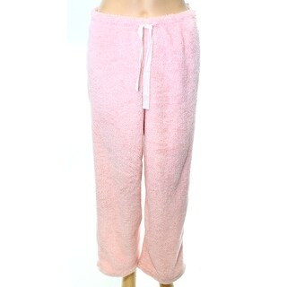 Roudelain NEW Heather Pink Womens Size Small S Drawstring Lounge Pants