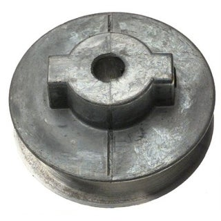 """Chicago Die Casting 250A Single V-Grooved Pulley, 3/8"""""""