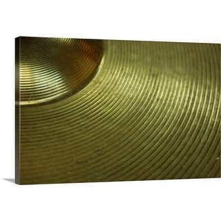 """Close up of drum"" Canvas Wall Art"