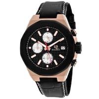 Roberto Bianci Men's Fratelli RB0133 Black Dial Watch