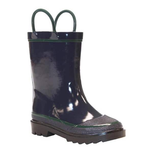 Western Chief Infants//Toddlers/' Solid Rain Boot Navy