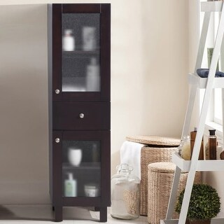 """Miseno MSC-MAS Massimo 53"""" Solid Wood Linen Tower (4 options available)"""