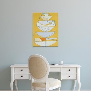 Easy Art Prints Rob Delamater's 'Abstract Sails III' Premium Canvas Art