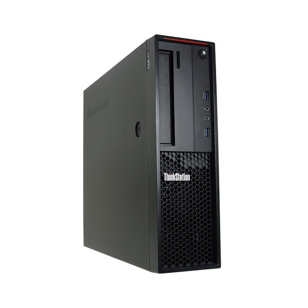 Lenovo ThinkStation P300 Core i5-4590 3.3GHz 8GB RAM 500GB HDD DVD-RW Win 10 Pro SFF PC (Refurbished)