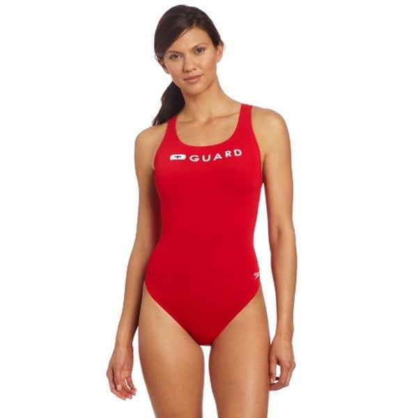 71ecbc5d56afe Shop Speedo Womens Lifeguard Super Proswimsuit - On Sale - Ships To ...