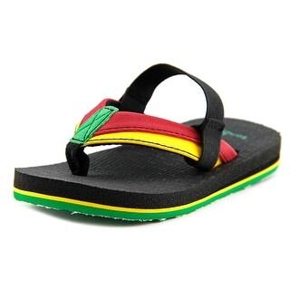 Sanuk Rootbeer Cozy Light Open Toe Synthetic Thong Sandal