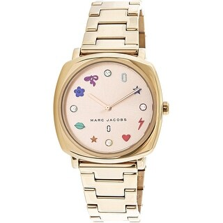 Marc Jacobs Women's Mandy MJ3550 Rose-Gold Stainless-Steel Fashion Watch