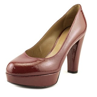 Lerre Y002   Open Toe Patent Leather  Platform Heel