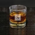 Bryne Block Monogram Whiskey Glass - Thumbnail 0