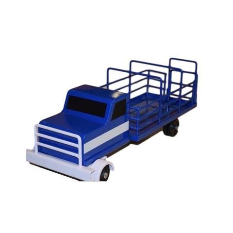 Little Buster Toys Cattle Truck Heavy Duty Metal Stock Blue - One Size