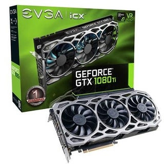 Evga 11G-P4-6696-Kr Geforce Gtx 1080 Ti Graphic Card With 11Gb Dvi-D Hdmi 3Dp
