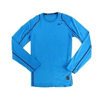 Nike NEW Royal Blue Mens Size XL Long Sleeve Crewneck Running Shirt