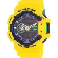Casio Men's G-Shock GA400-9A Yellow Resin Quartz Fashion Watch