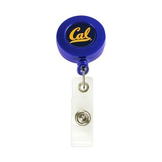 CAL Golden Bears Retractable Badge Reel Id Ticket Clip NCAA