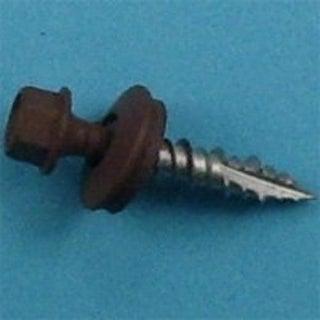 Acorn SW-MW1BN Metal Building Screws, 1, Brown, Pkg/250