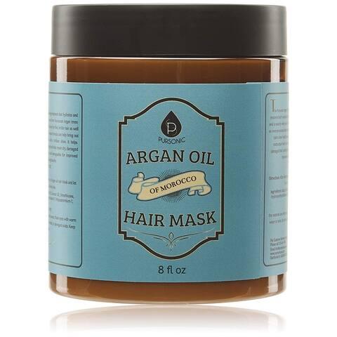 Pursonic AOHM8 Argan Oil Hair Mask of Morocco, 8 Fluid Ounce