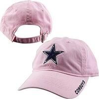 Dallas Cowboys Basic Slouch Cap Pink