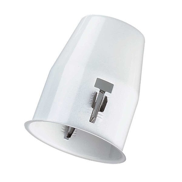 Ceiling Lights White Metal Flush Cannister for Light | Renovator's Supply