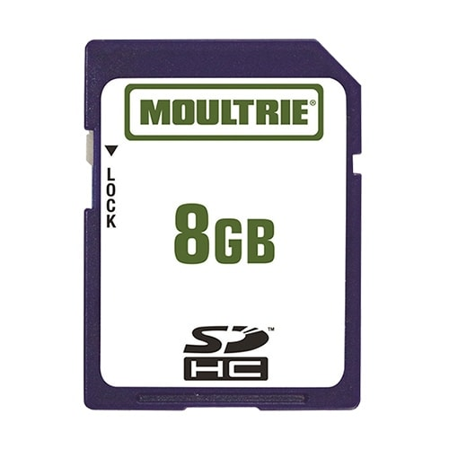 Moultrie MFHP12541 8GB SD Memory Card Can Be Used with SDHC Compatible Devices