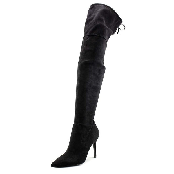Aldo Womens Asteille Pointed Toe Over Knee Fashion Boots