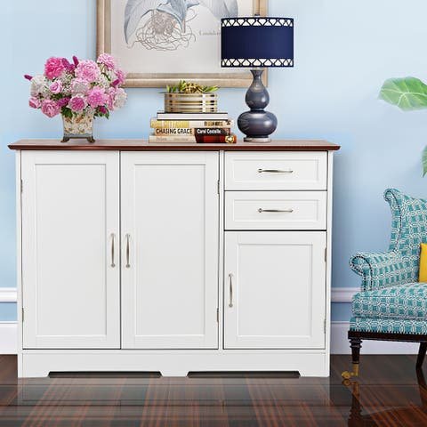 Buffet Server Sideboard Storage Cabinet Console Table