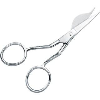 "Double-Pointed Duckbill Applique Scissors 6""-Left Handed"